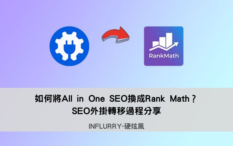 All in One SEO換成Rank Math