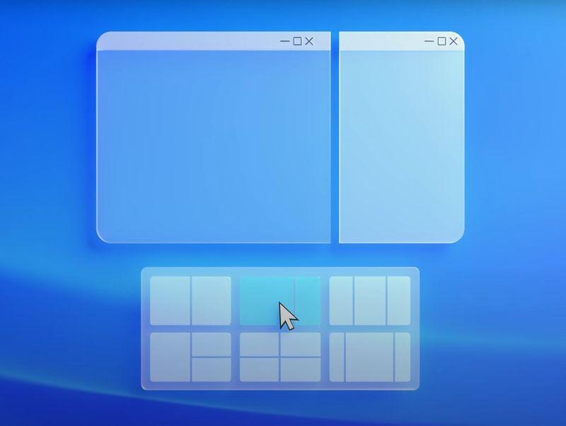 Windows 11多工視窗