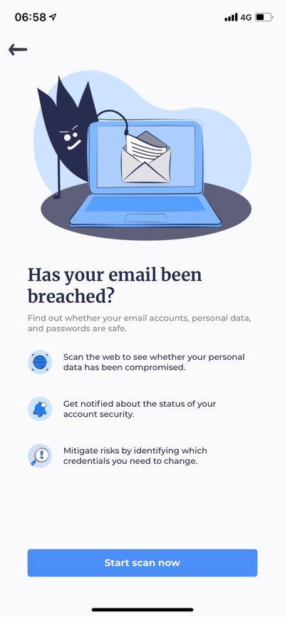 Data Breach Monitor 功能