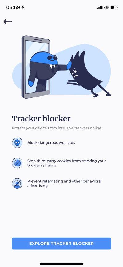 Tracker Blocker 功能