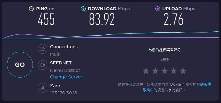 英國VPN速度